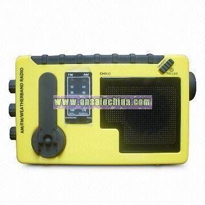 Multifunction Radio with DC and Earphone Jack