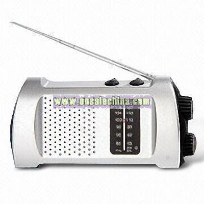 FM/AM Dynamo Radio
