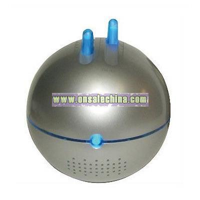 Saturn Duo Speaker Radio