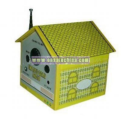 House Shape Radio