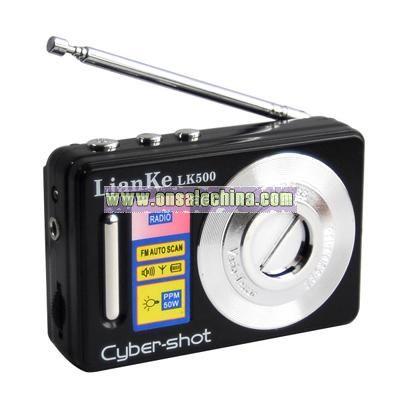 Novelty Camera Radio