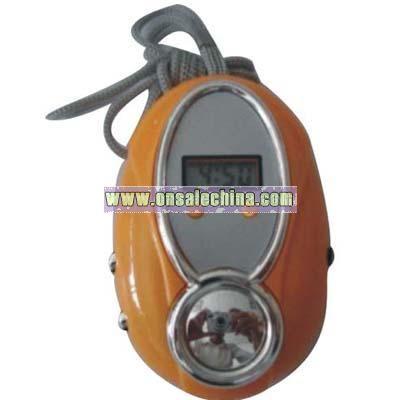 FM Auto Scan Radio with Clock
