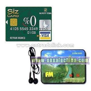 Credit Card Radio