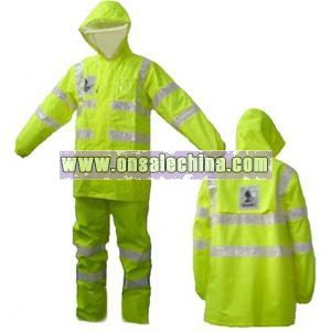 Oxford Safety Raincoat