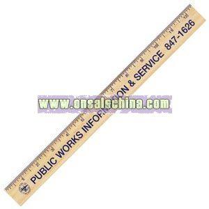 Natural Wooden Finish Ruler