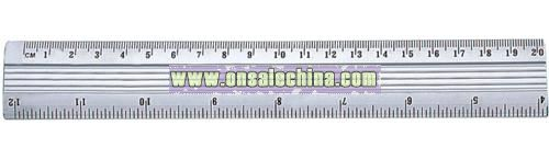 1-20cm 4-10inches Aluminum Ruler
