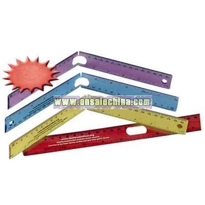 Folding ruler, 12
