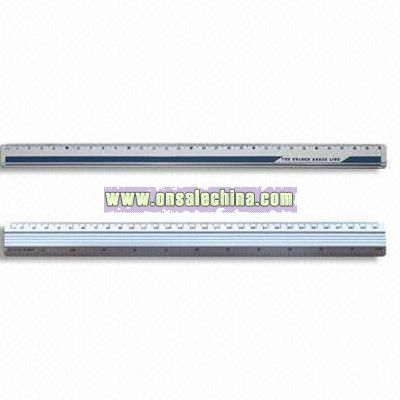 6, 12 Inches Aluminum Rulers