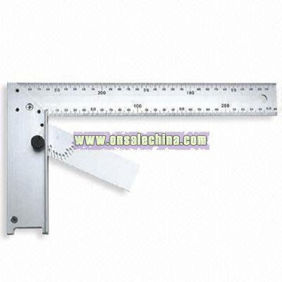 aluminium angle square ruler