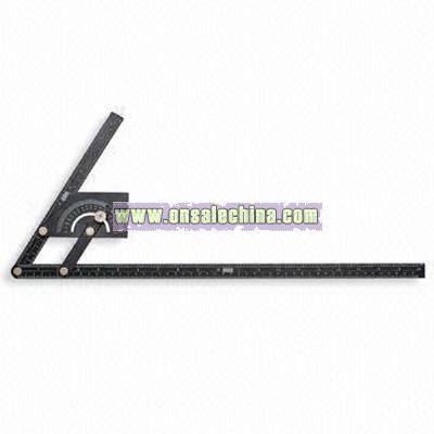 Steel super square 230 x 500mm Protractor