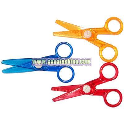 Plastic Safety Scissor