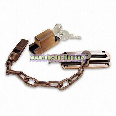 Zinc Alloy Chain Door Lock
