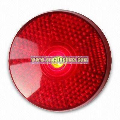 LED Flashing Round Light