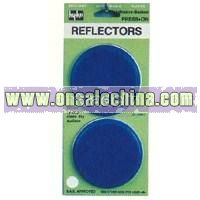 Round Colored Plastic Safety Reflectors