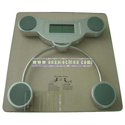 Electronic body scale