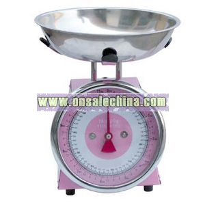 Stainless steel horological scale