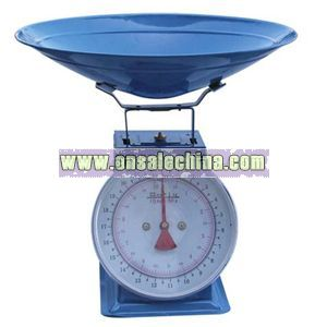 Platform scale with conical case