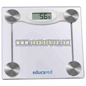 Glass weighing scale