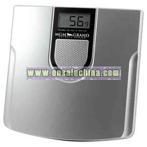 Talking weighing scale