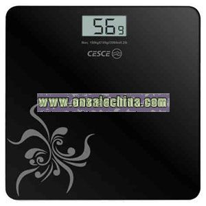 Weighing scale glass