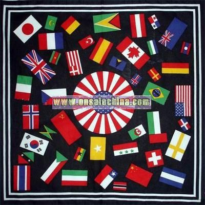 National Flag Logo Scarf