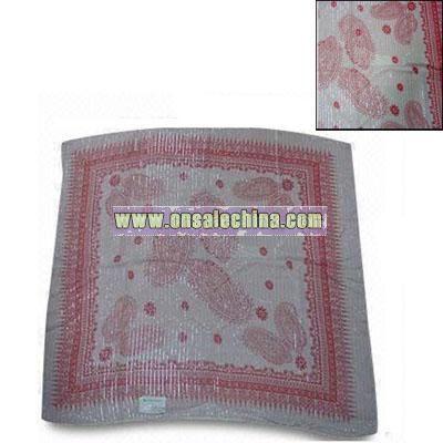 100% Cotton Coloful Printing Kerchief Scarf