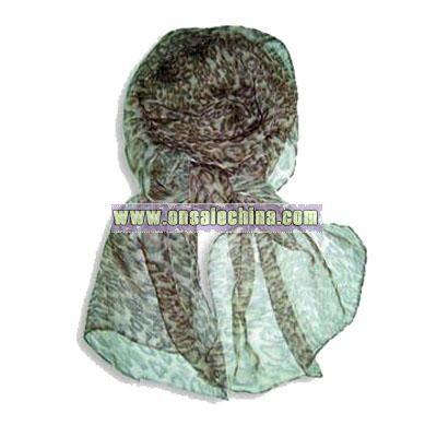 Polyester Chiffon Scarf
