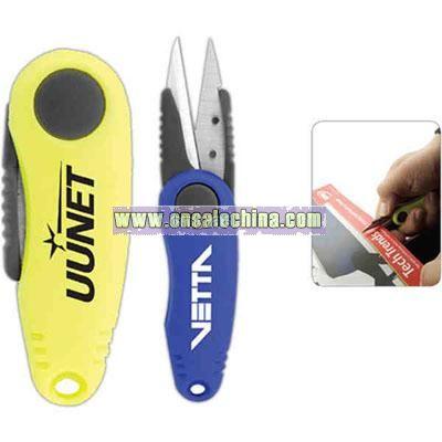 Foldable pocket travel scissors