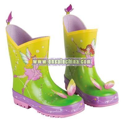 Children's Fairy Rain Boots
