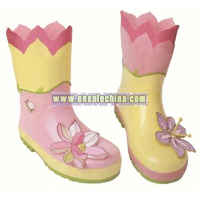 Children's Lotus Rain Boots