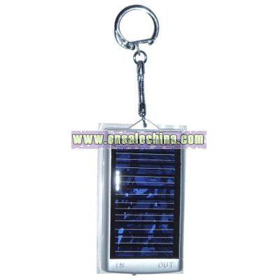 Mini Solar Charger Keychain