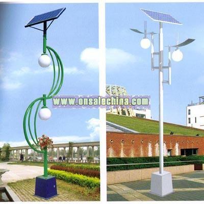 Solar Yard Lamp