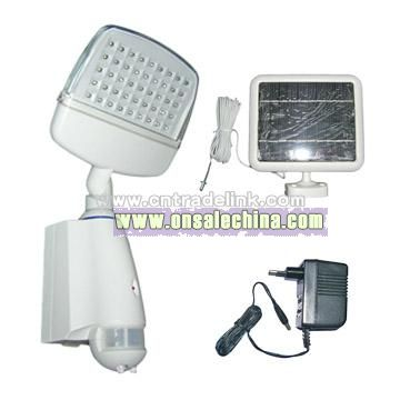 Solar LED Sensor Light
