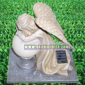 Solar Grave Monument Lamp