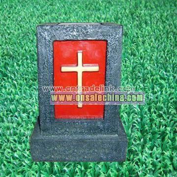 Solar Grave Cross Light