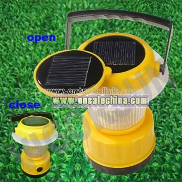 Solar Power Camp Lamp