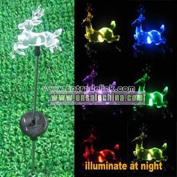Solar Power Decoration Stick Lamp