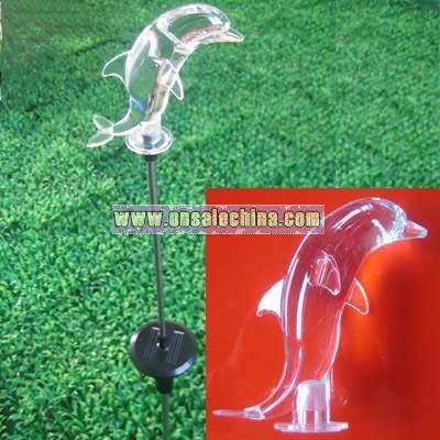 Solar Landscape Stick Lamp