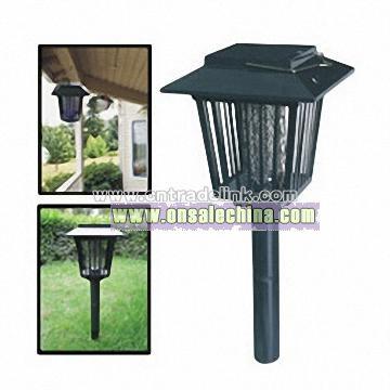 Solar Pest Killer, Solar Bug Zappers, Solar Mosquito Killing Lamp