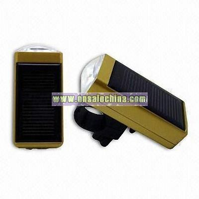 Solar Powered Bicycle LED Lights