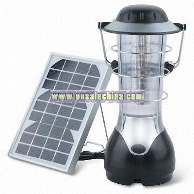 LED Rechargeable Camping Lantern with Dynamo Charging Function