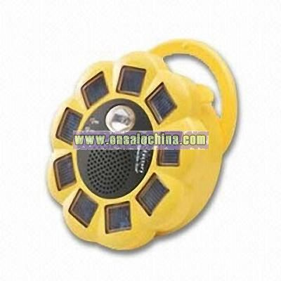 Waterproof Solar Mobile Phone Charger with AM/FM Rradio
