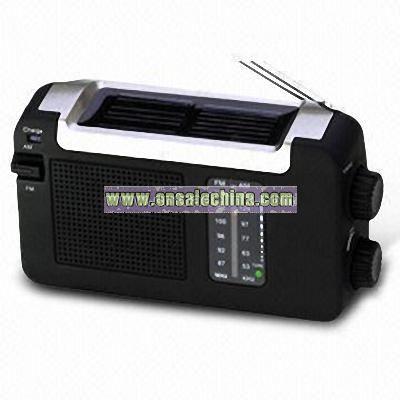 Solar Radio with Low Power Consumption