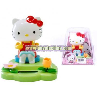Solar Powered Shaking Hello Kitty Toys