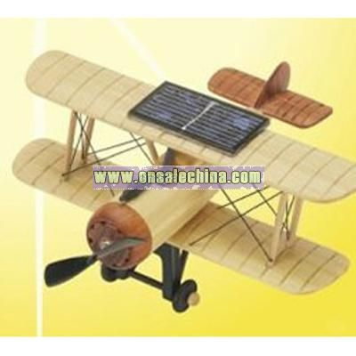 Solar Wooden Toy