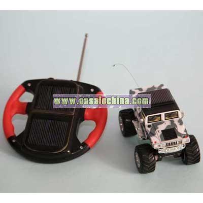 Solar Hummer Car