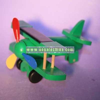 Solar Wooden Airplane