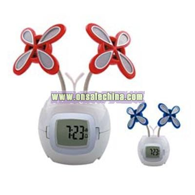 Butterfly Speakers with Clock