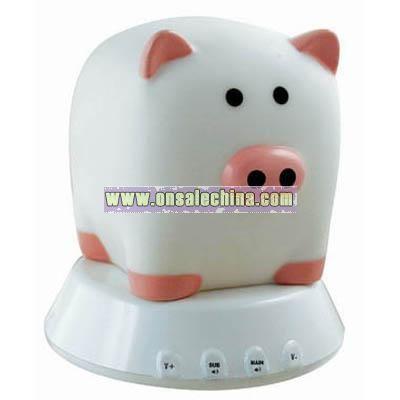 Piggy Shaped Speakers