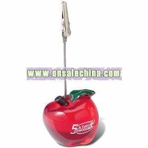 Apple Clip Memo Holder